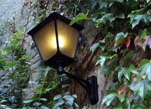 éclairage de jardin, lumière de jardin,