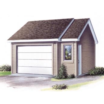 Plan de garage simple de Rona