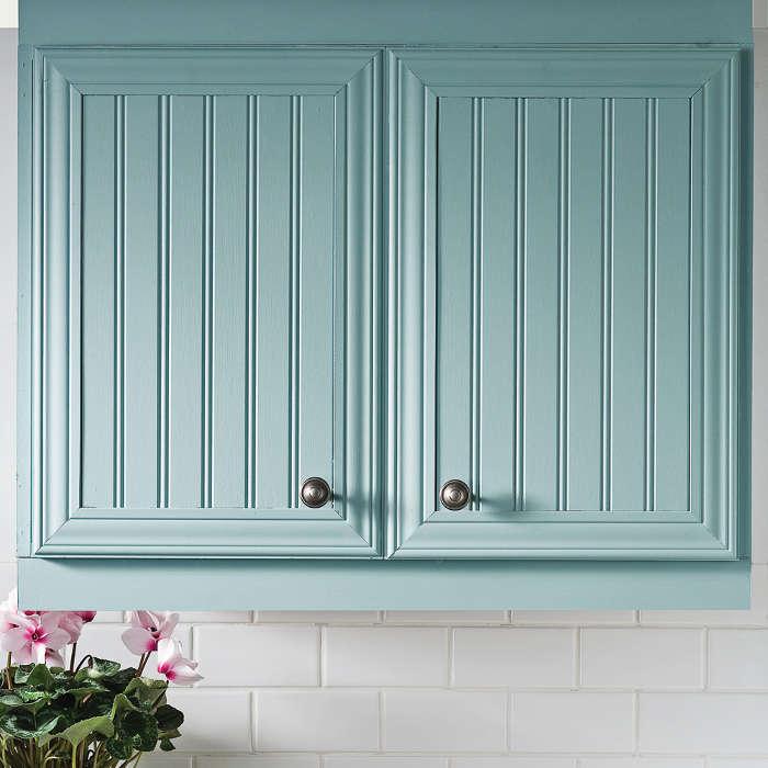Peindre les armoires de m lamine dans la cuisine for Peindre sur melamine blanc