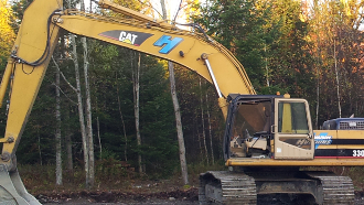 excavation hutchins, excavateur hutchins,