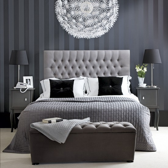 Awesome Chambre A Coucher Gris Et Rose Images - House Design ...