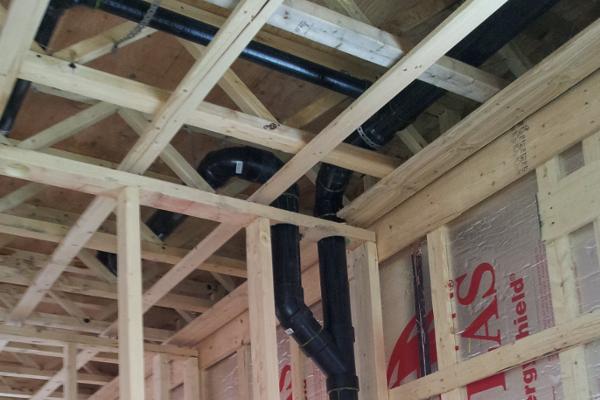 Plomberie et lectricit la maison - Cout installation plomberie maison neuve ...