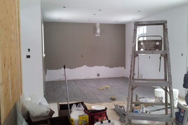 peinture maison, peinturer une maison, céramique cuisine,