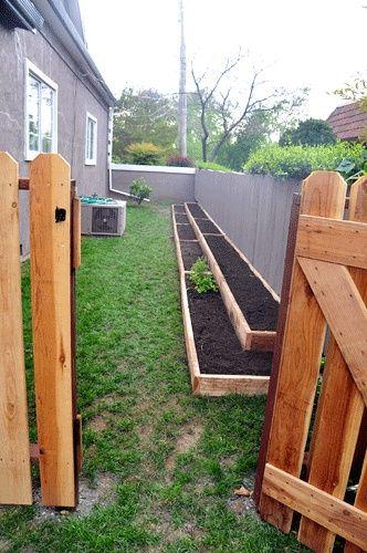 bac de jardinage, bac pour le jardin,