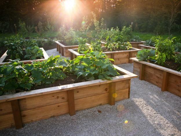 bac jardin en bois, plan bac de jardinage,