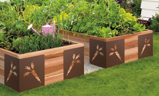 Des bac en bois pour le jardinage - Bac de jardin en bois ...