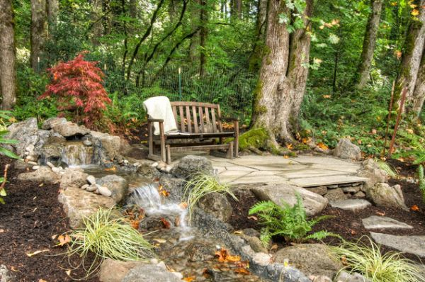 Am nagement nature am nagement for t for Amenagement jardin foret