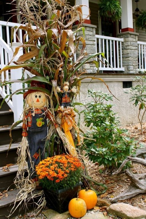 D co automne ext rieur d corer la maison automne - Deco de table automne ...
