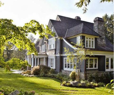 Maison grise maison de campagne for La maison de campagne