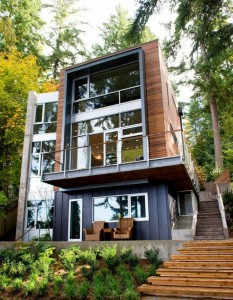 grande maison carré, maison contemporaine carrée, |