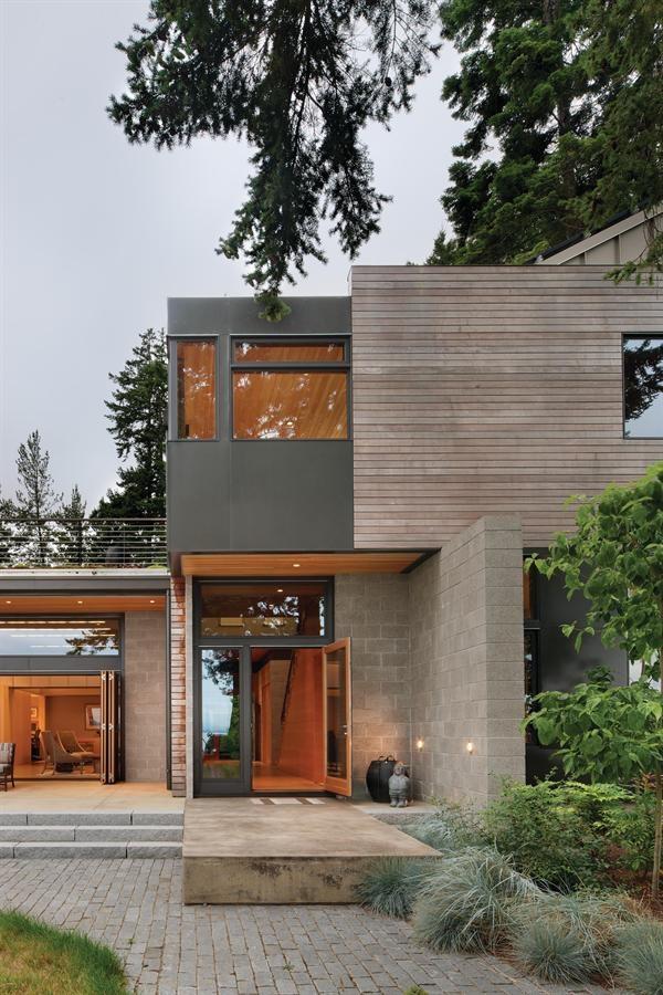 maison ligne droite, maison carrée, |