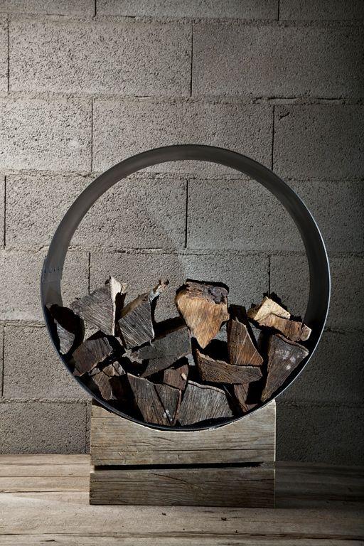 rack design bois de chauffage support design bois de chauffage. Black Bedroom Furniture Sets. Home Design Ideas