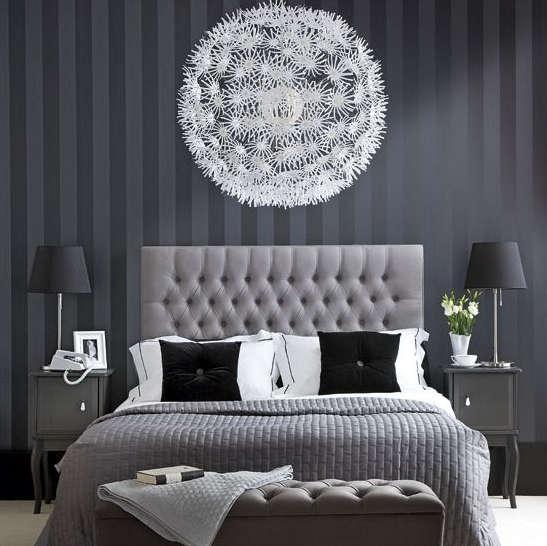 Papier peint chambre coucher tapisserie chambre coucher - Moisissure tapisserie chambre ...