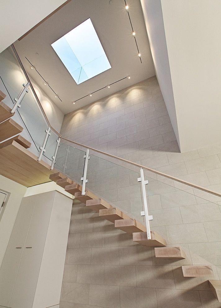 escalier suspendu, escalier suspendu en bois, escalier moderne,
