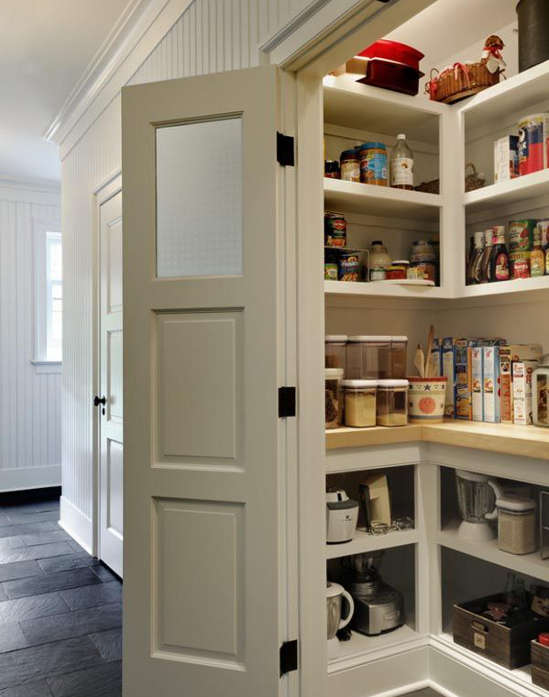 aménager garde-manger, pantry organisation,