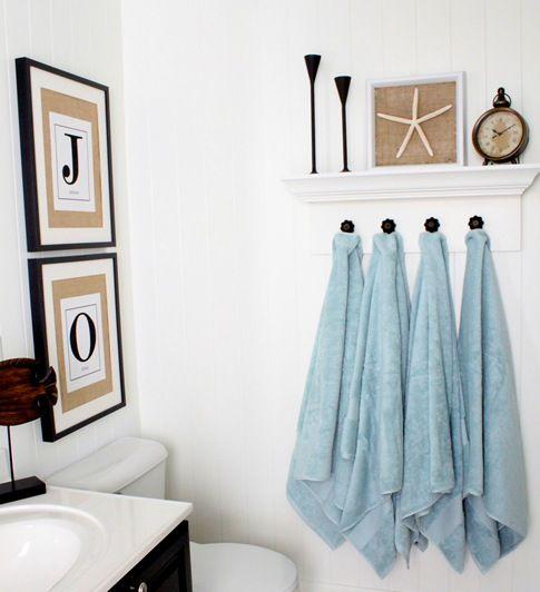 Porte serviette salle de bain support serviette salle de - Support salle de bain ...