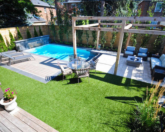 Top aménager une piscine, aménagement paysager piscine creusée, | RP69
