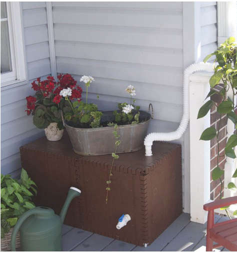 récupérateur eau de pluie carré,