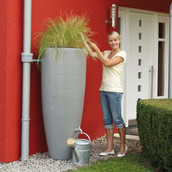 récupérateur eau de pluie moderne