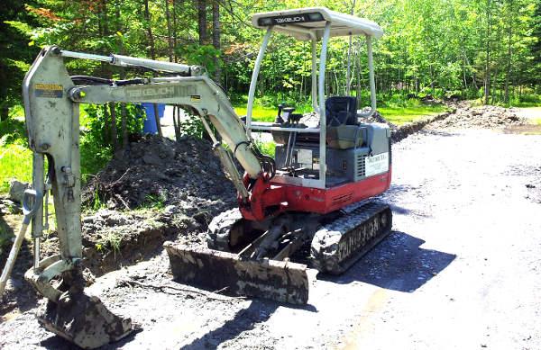 drainage terrain, drainer un terrain,