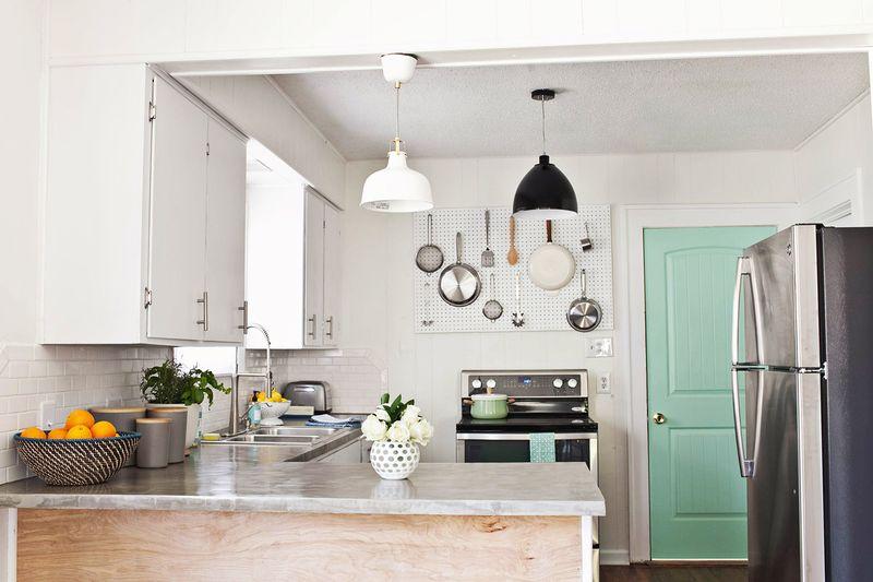R novation cuisine cuisine blanche - Renovation cuisine avant apres ...