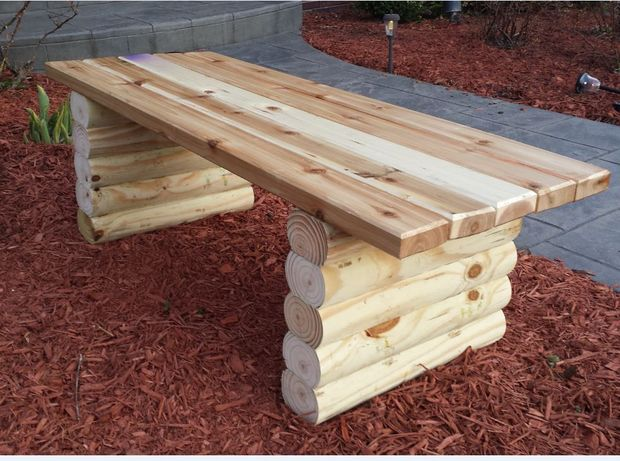 Banc Bois Exterieur Plan : Easy DIY Outdoor Bench