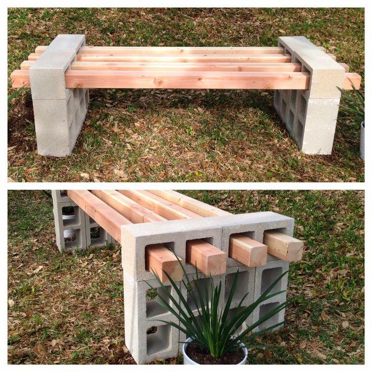 Fabriquer des bancs pour l 39 ext rieur - Fabriquer un banc en planches ...