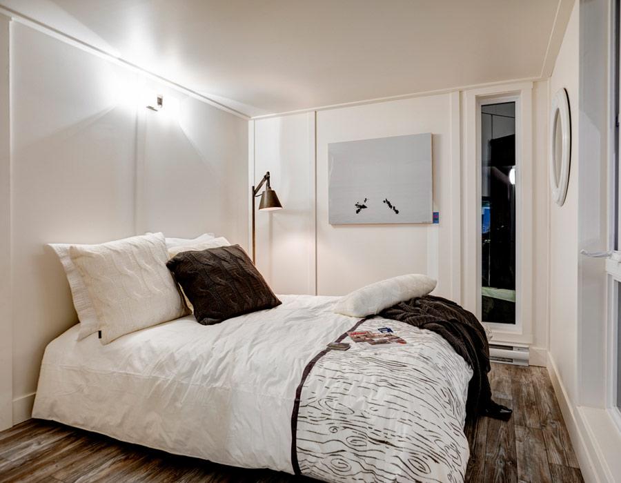 chambre à coucher chalet, chambre chalet hôm,
