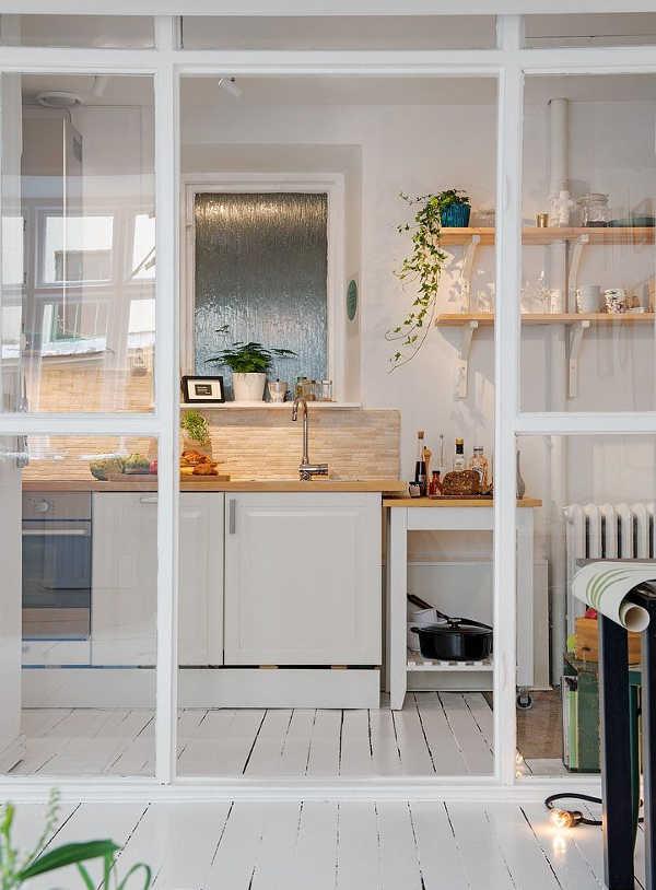 Cuisine blanche id e et photo - Photo cuisine blanche ...