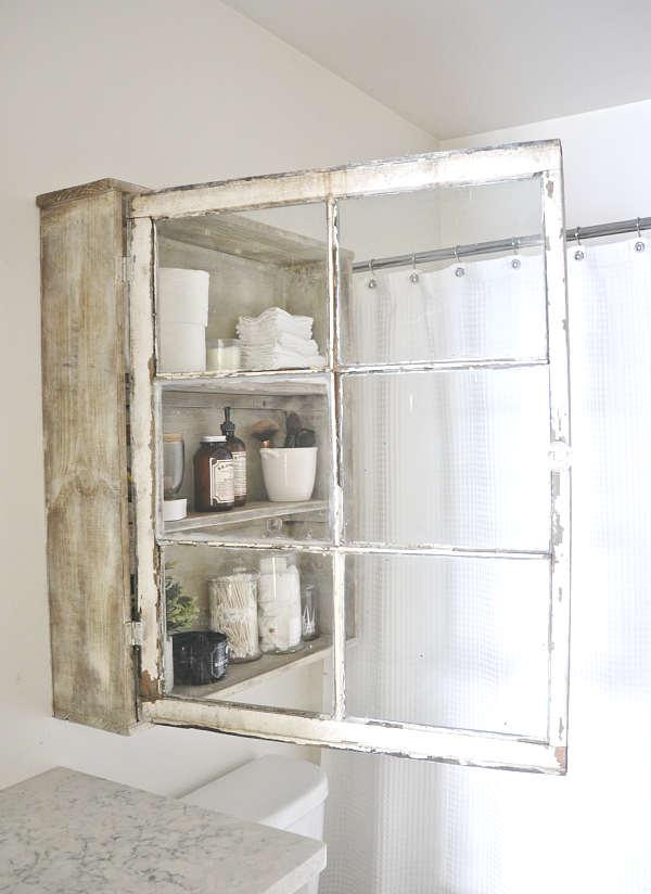 Fabriquer un cabinet de salle de bain