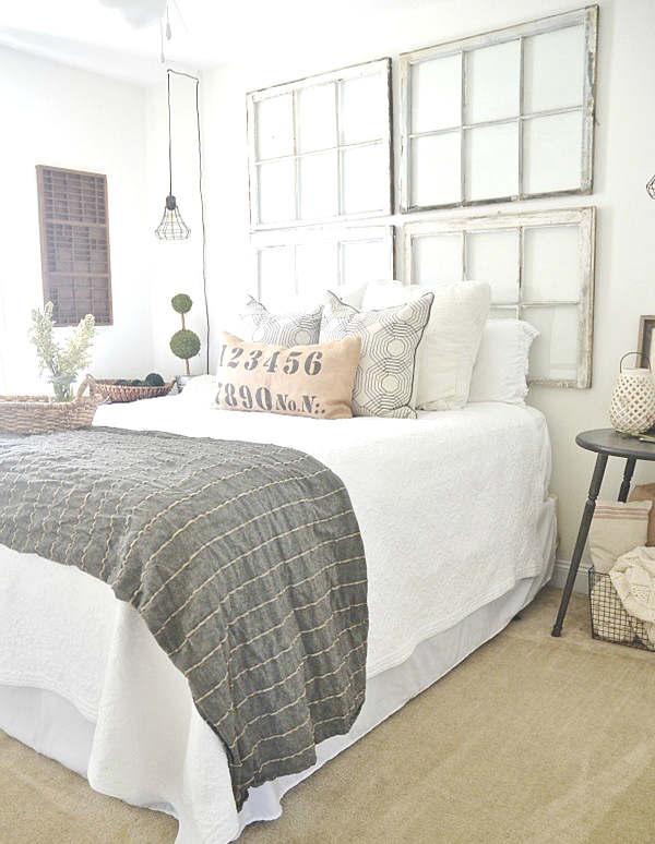Fabriquer une tête de lit avec des fenêtres