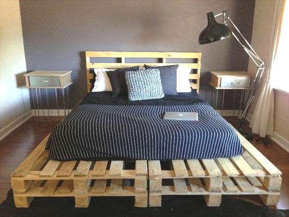 Top Diy, fabriquer un lit plate-forme | HC35