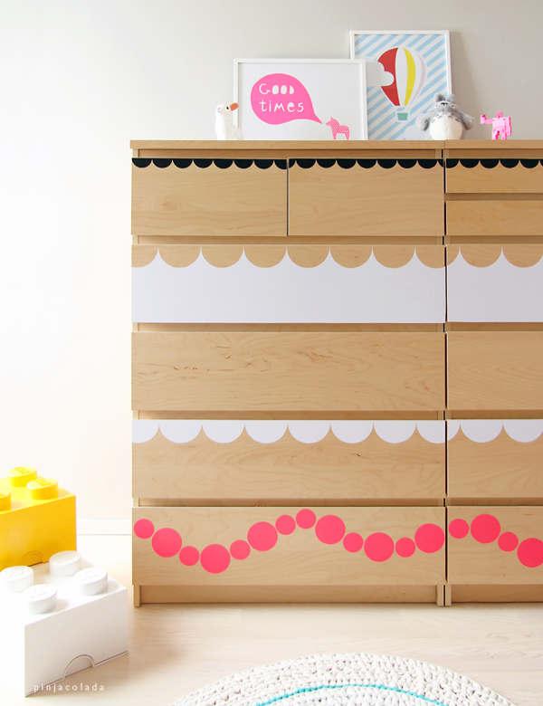 Relooker un meuble dans la chambre d'un enfant