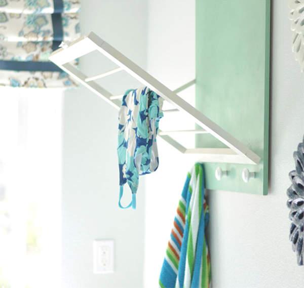 rack pour sécher les vêtements