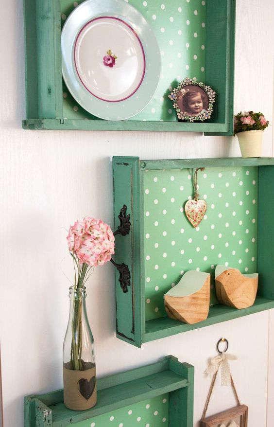 recycler de vieux tiroirs. Black Bedroom Furniture Sets. Home Design Ideas
