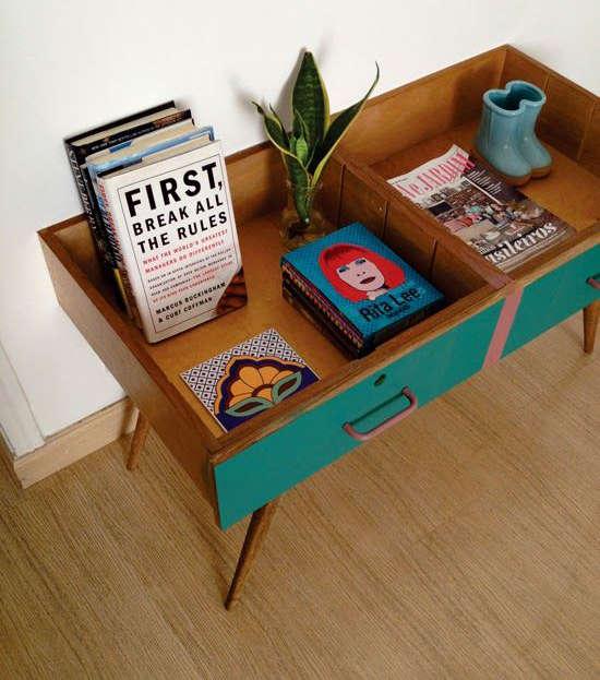 Fabriquer une table de salon avec de vieux tiroirs