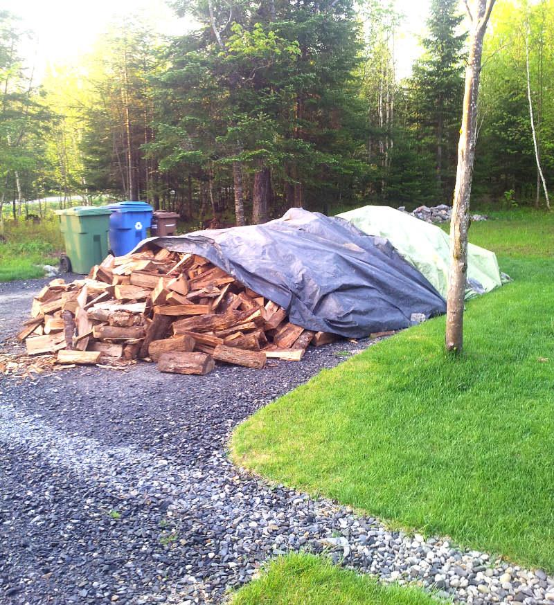 livraison du bois de chauffage à la maison