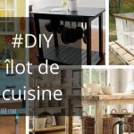 DIY, fabriquer un îlot de cuisine