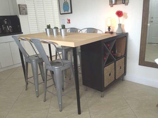 Fabriquer un îlot de cuisine avec des meubles IKEA, hack