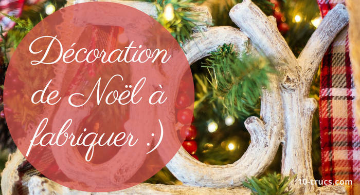 Decoration De Noel  A Faire